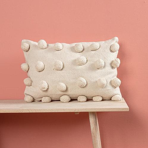 Large Pom Pom Cushion