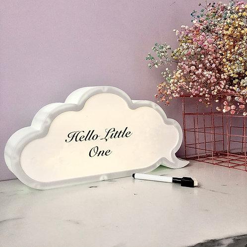 Cloud Light Box with Pen