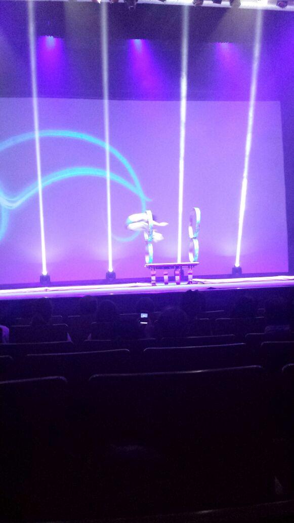 Show de Acrobacia en Shanghai