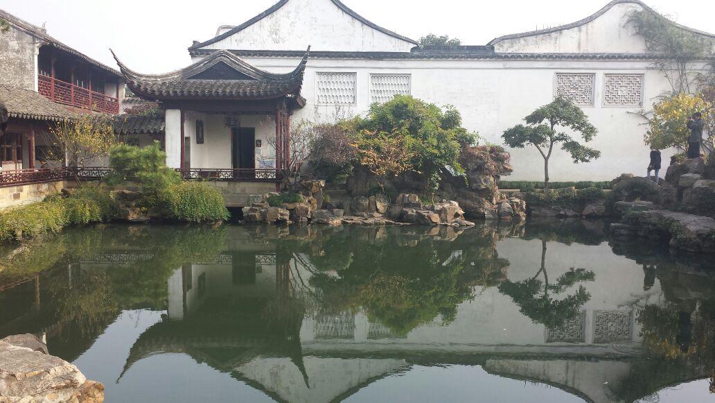 Gardens line in Shanghai