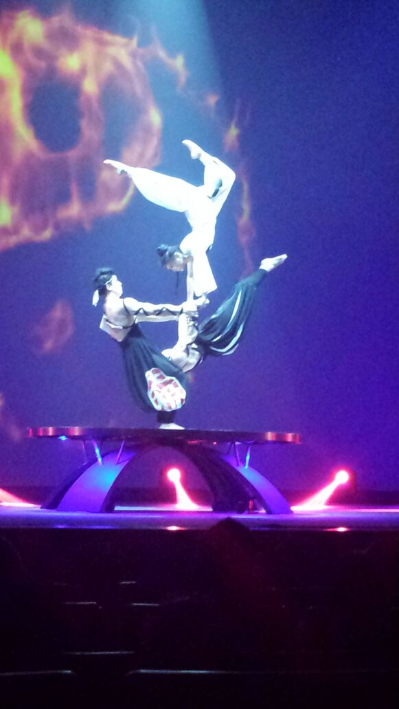 Acrobatics Show in Shanghai