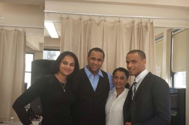 Junto a mi Familia