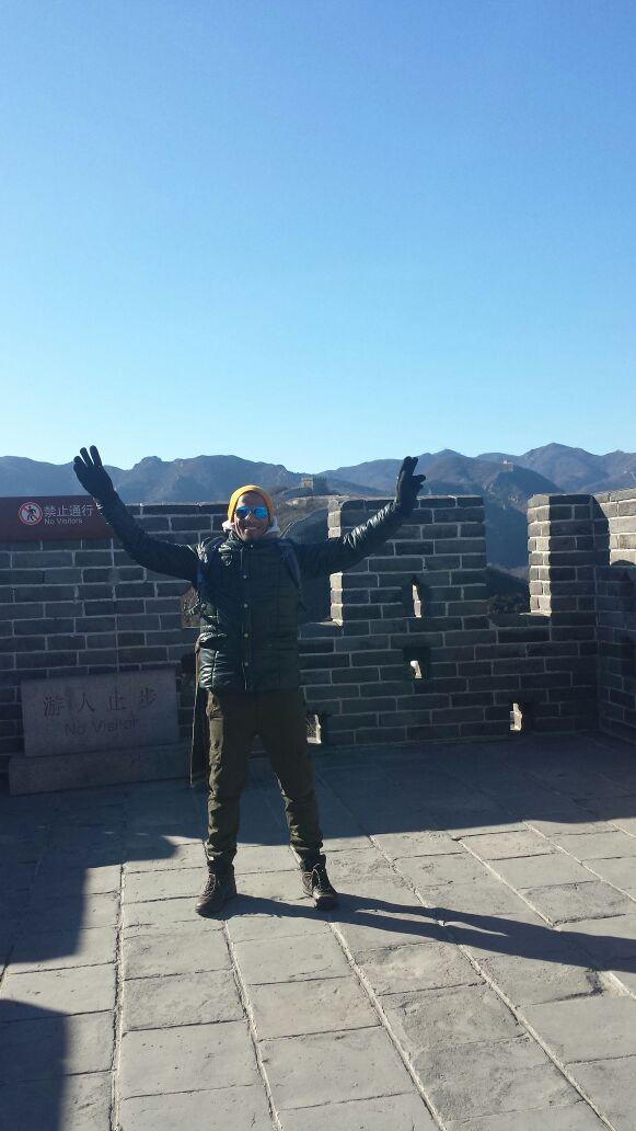 """En la """" Gran Muralla"""""""