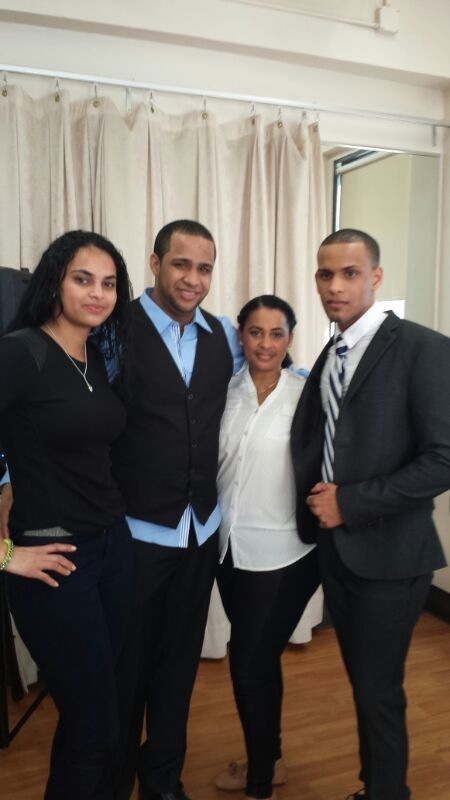 My sister, brother and my Mom