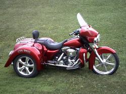 Road Glide  Trike Red