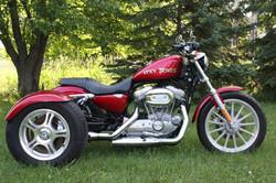 Sporster Trike Red