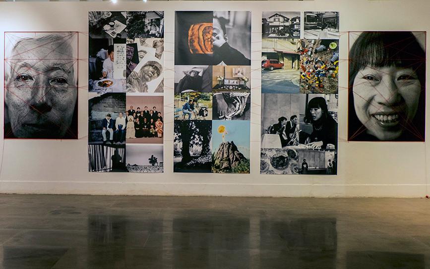 "Installation view of Yoshikatsu Fujii's ""Incipient Strangers"""