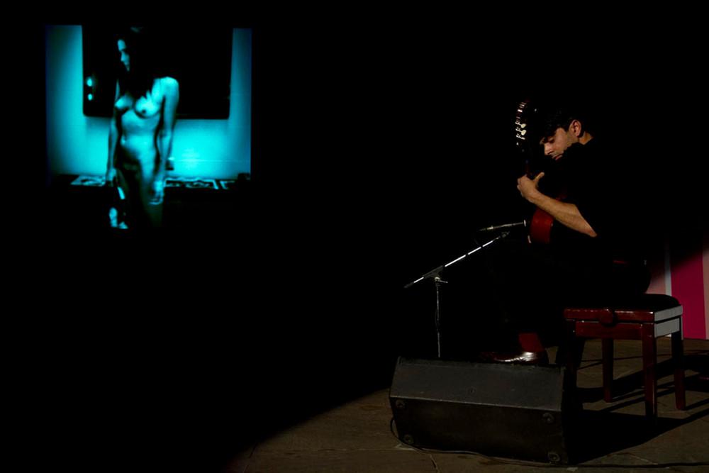 "Piyush Wadhera pays homage to Prabuddha Dasgupta with a performance titled ""The Longing (for Gutlu)"""