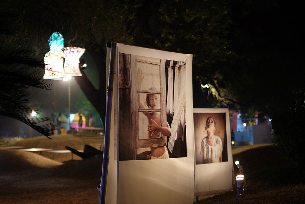 "Installation view of Karolin Kluppel's ""Madchenland"""