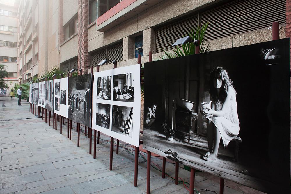"""Installation view of Dina Oganova's """"I am Georgia"""""""