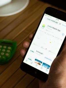 Installatie Crelan Mobile App