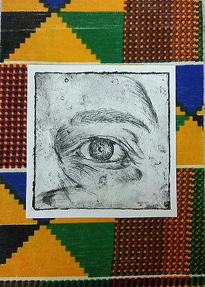 'Untitled - eye etching'