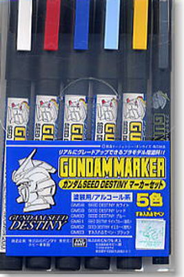 Gundam SEED Destiny Marker Set 6pcs