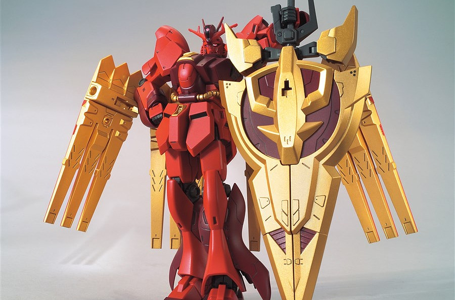 HGBD:R 1/144 Nu Zeon Gundam