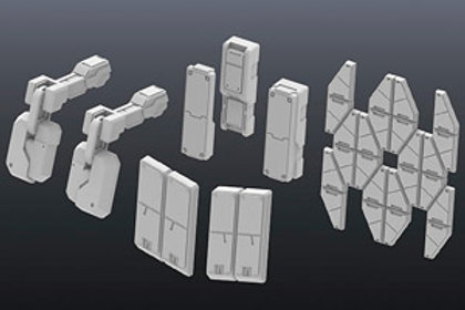 Builders Parts HD: MS Armor 01