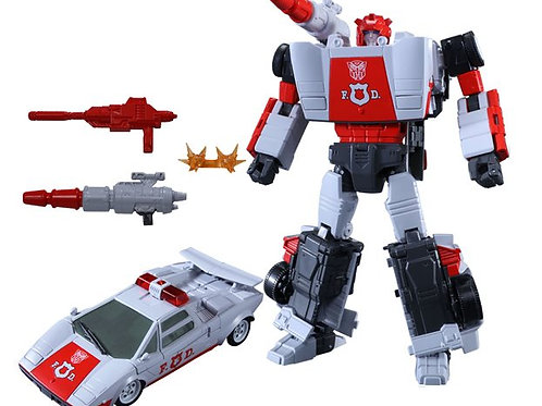 Takara Tomy MP-14+ Masterpiece Red Alert Anime Color Edition