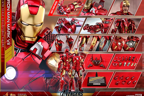 Hot Toys - MMS500D27 - The Avengers - 1/6th scale Iron Man Mark VII Collectible