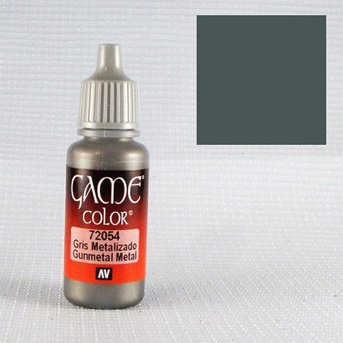 Vallejo GunMetal Metallic Acrylic Color 17ml