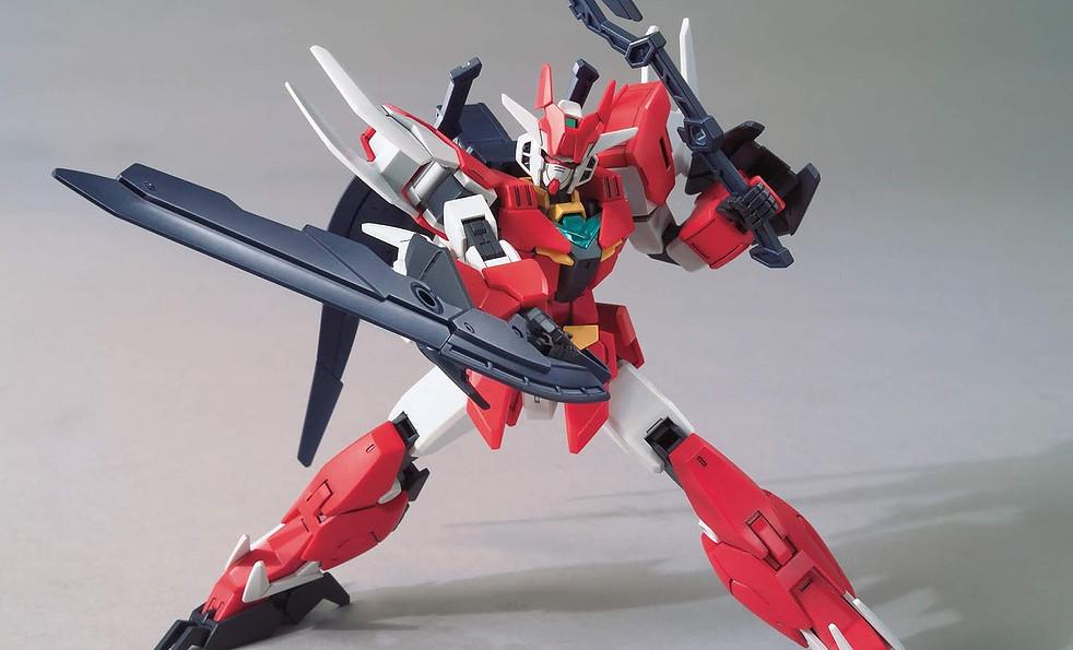 HGBD:R 1/144 Core Gundam & Marsfour UnitReal Color Type