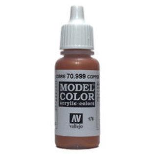 Vallejo Copper Metallic Acrylic Color 17ml
