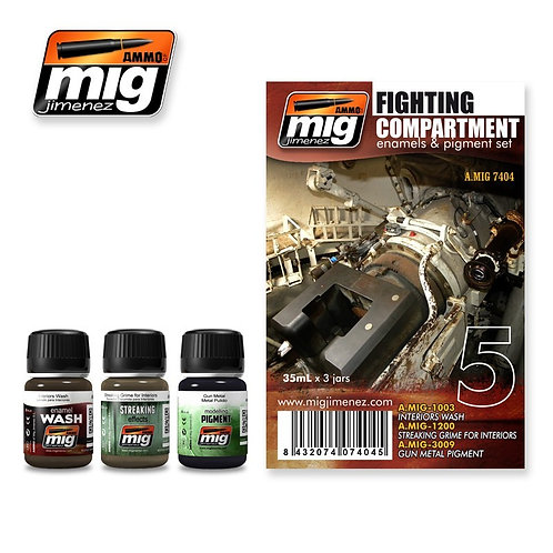 Ammo MIG FIGHTING COMPARTMENT SET