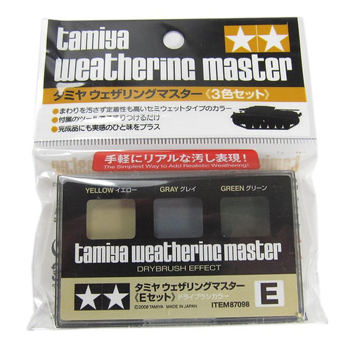 Tamiya Weathering Set E