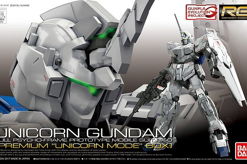 RG 1/144 Unicorn Gundam (First Run Edition)