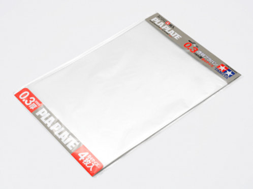 Pla Plate Clear 0.3mm B4 sizes
