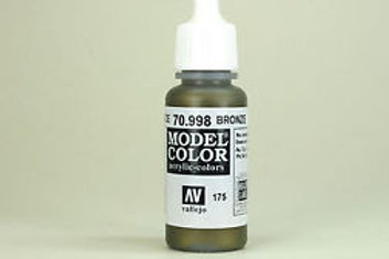 Vallejo Bronze Metallic Acrylic Color 17ml