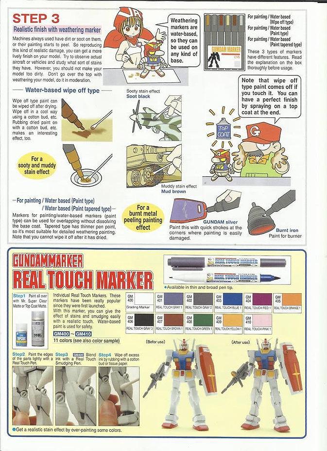 Gundam marker Tutorial