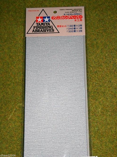 Tamiya Abrasives P180,P240 & P320
