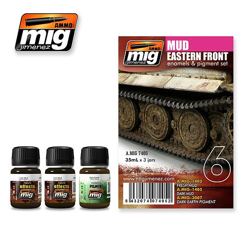 Ammo MIG Easter Front Mud Set