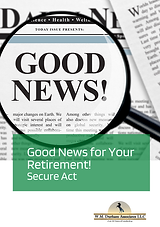 Good News -Secure Act