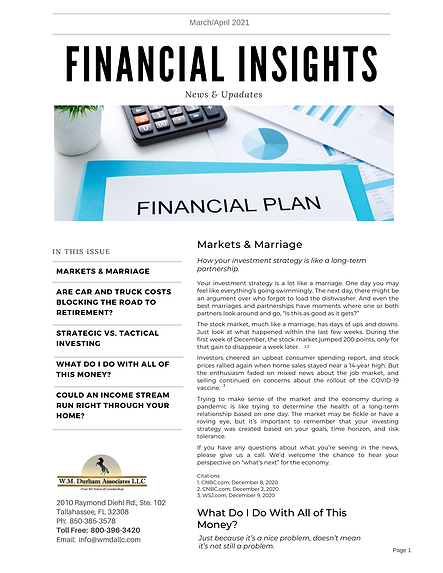 Financial Insights March_April 2021 (2nd