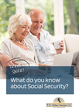 What Do You Know About Social Security Quiz