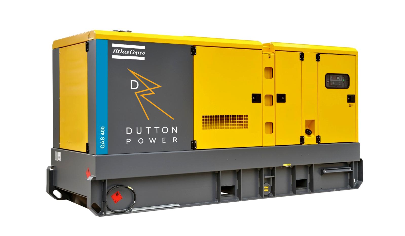 DUTTON POWER - ATLAS COPCO QAS 400