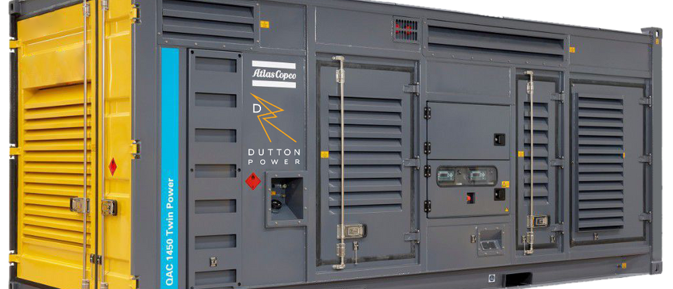 DUTTON POWER - ATLAS COPCO QAC 1450 TWIN POWER