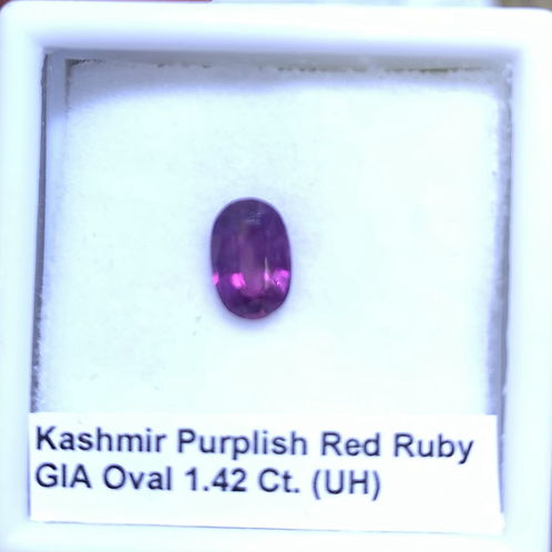 Ruby Oval 1.42 Ct.