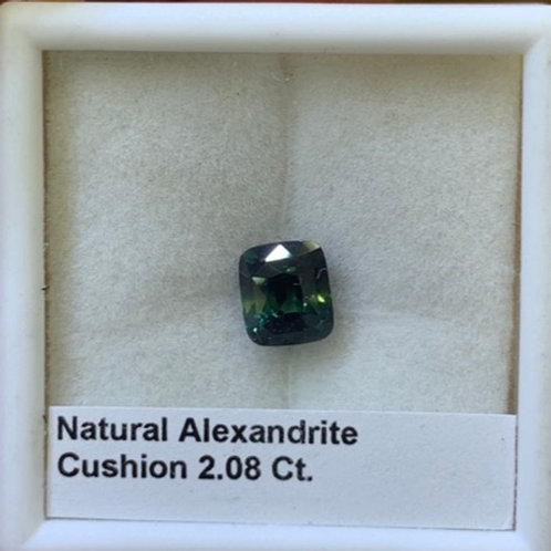 Alexandrite Cushion 2.08 Ct.