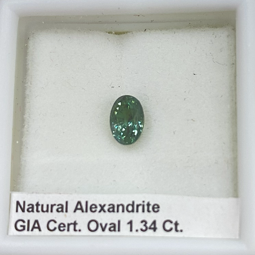 Alexandrite Oval 1.34 Ct
