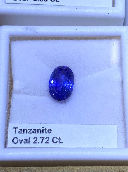 Oval 2.72 tanzanite