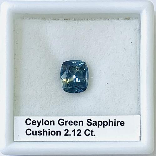 Blue Green Bi Color Sapphire