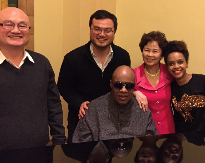 We're fortunate to have worked with our friend, Stevie Wonder.