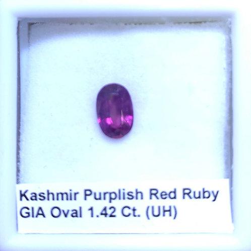 Ruby Oval 1.42 C.t