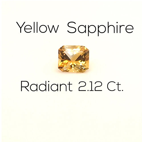 Radiant Ceylon Yellow Sapphire Downtown Los Angeles Diamond District