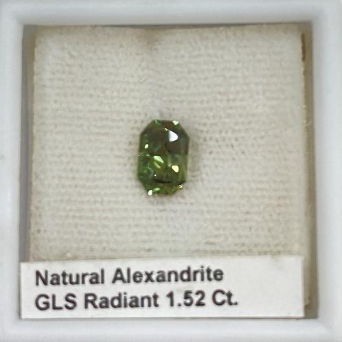 Alexandrite Radiant 1.52 Ct