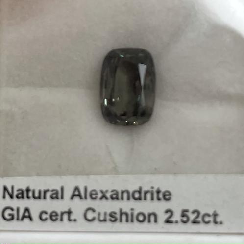Alexandrite Cushion 2.52 Ct