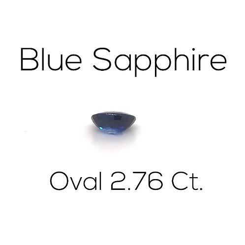 Oval Ceylon Blue Sapphire Gemstone Downtown Los Angeles Diamond District