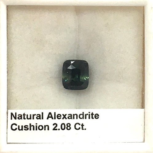 Alexandrite 2.08 Ct
