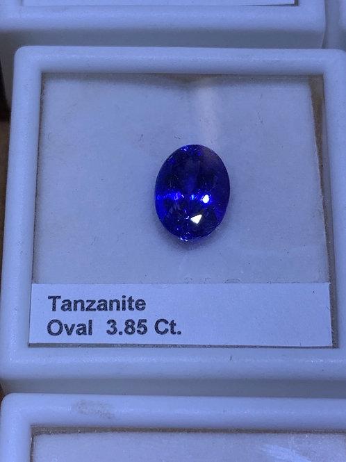 Oval 3.85 tanzanite